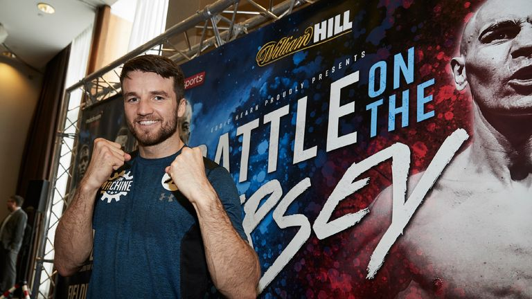 """Liverpool Open Workouts at the Hilton Hotel ahead of Matchroom Boxing show """"Battle On The Mersey"""" this weekend live on Sky Sports 25th February 2017 Pictur"""