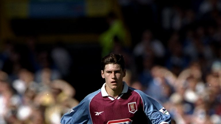 Barry quickly became a mainstay in Villa's midfield from 1998/99 season onwards having broken into the first team in the season beforehand