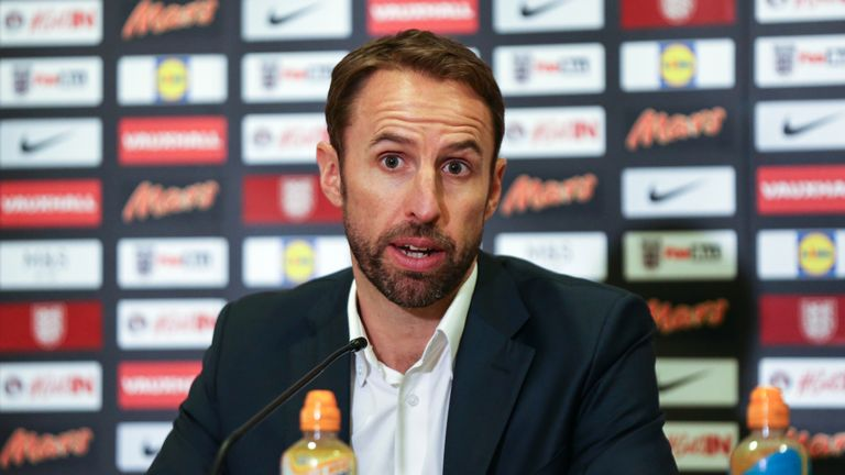 Southgate unveiled his latest squad on Thursday