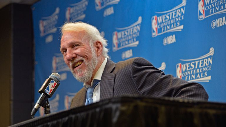 Gregg Popovich says Donald Trump has behaved like a child having a temper tantrum