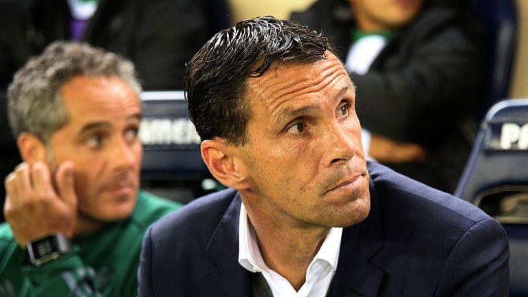 Gustavo Poyet was suspended last week by Bordeaux