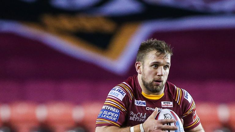 Paul Clough crossed for the Giants as they slipped to defeat