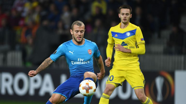 Jack Wilshere put in an impressive performance in Belarus