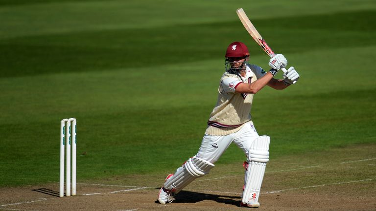 James Hildreth scored his 43rd first-class ton to put Somerset in control on day two against Hampshire
