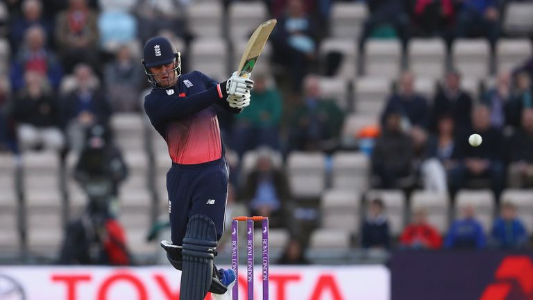 Jason Roy has made scores of 84 and 96 since returning to the England ODI side