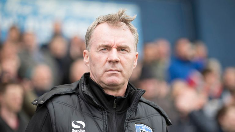 John Sheridan left his role as Oldham manager on September 25 after a poor start to the season