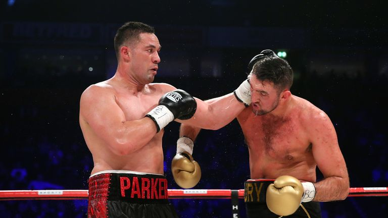 Parker defended his WBO belt with a majority decision win over Hughie Fury
