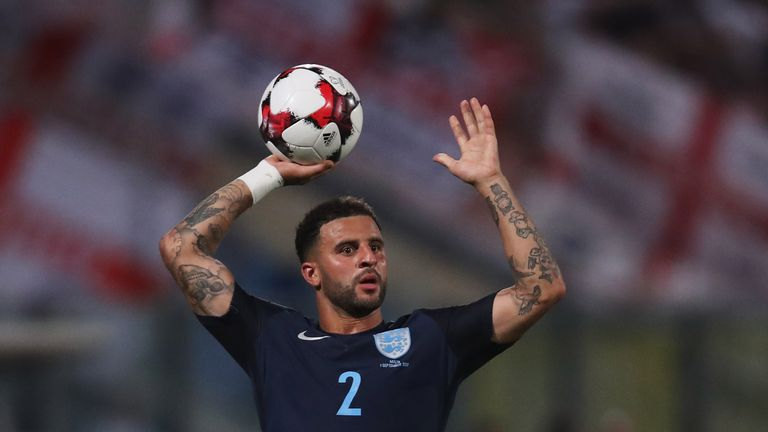 Kyle Walker is hoping to go to the World Cup with England this summer