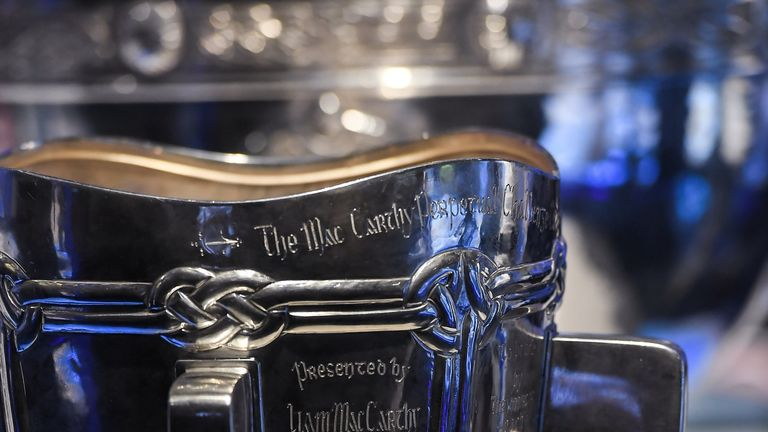 How many counties will contest the Liam MacCarthy Cup  in 2018?