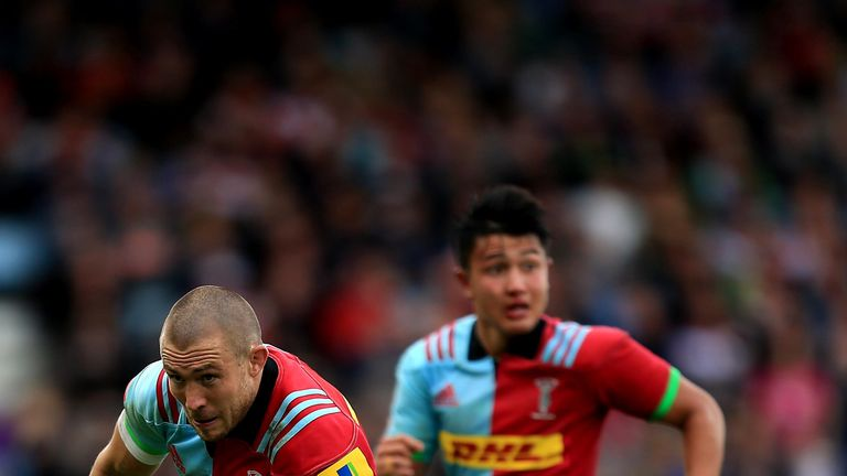 Mike Brown returns for Harlequins