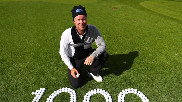 Ilonen had the honour of making the 1,000th hole-in-one on the European Tour