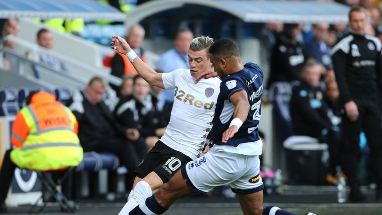 Millwall beat Leeds at The Den in mid-September last season