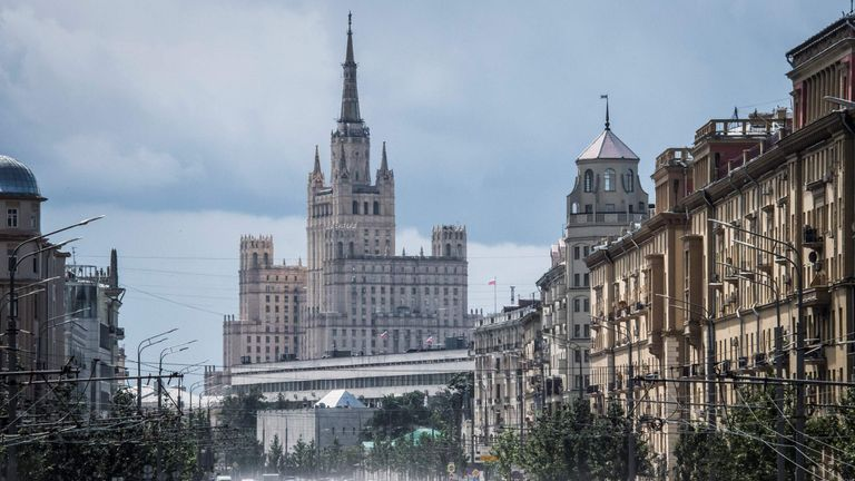 moscow hotel used by uefa officials evacuated after bomb scare