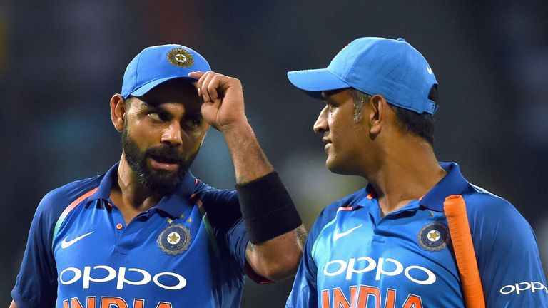 Bumble thinks Virat Kohli has a little too much to say to departing batsmen