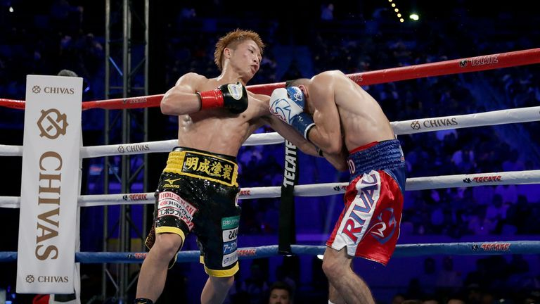 Naoya Inoue (L) is likely to move up to bantamweight