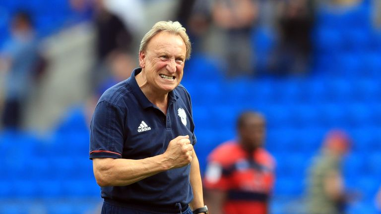 Cardiff City boss Neil Warnock has earned a Manager of the Month nomination