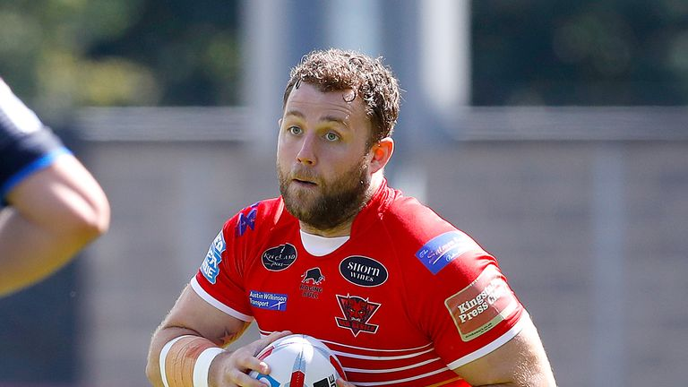 Olsi Krasniqi is swapping Salford for Toronto