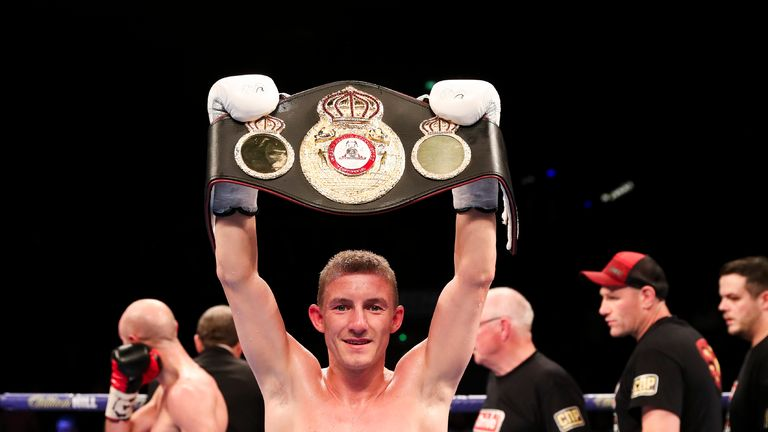 Paul Butler could be a potential future opponent for Burnett