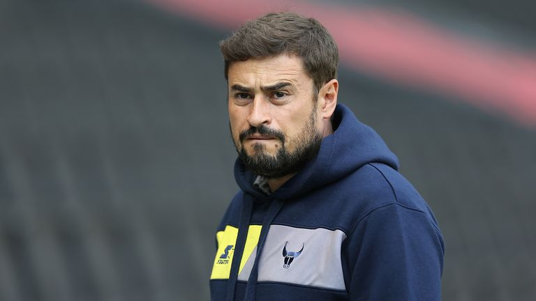 Pep Clotet was dismissed following Oxford's 2-1 loss at home to League One's bottom side Bury.
