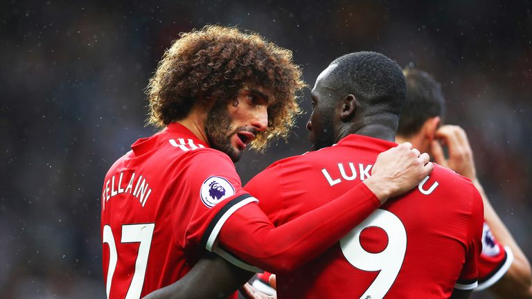 Marouane Fellaini starred in Manchester United's win over Crystal Palace