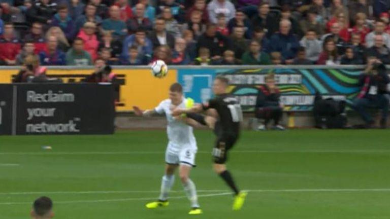 Matt Ritchie avoided a red card