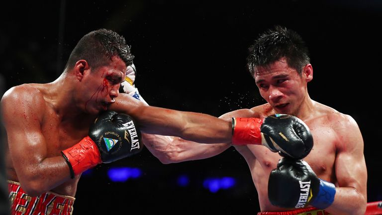 Gonzalez's 46-fight unbeaten record was ended by a majority decision loss to his Thai opponent