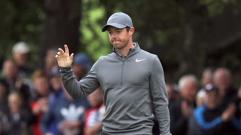 This week is McIlroy's last chance to avoid ending 2017 without a win