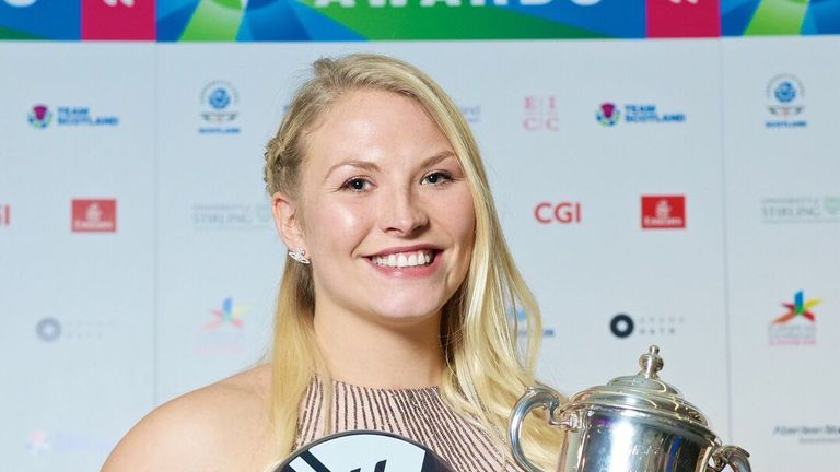 Samantha Kinghorn has had a fine year of holding new silverware