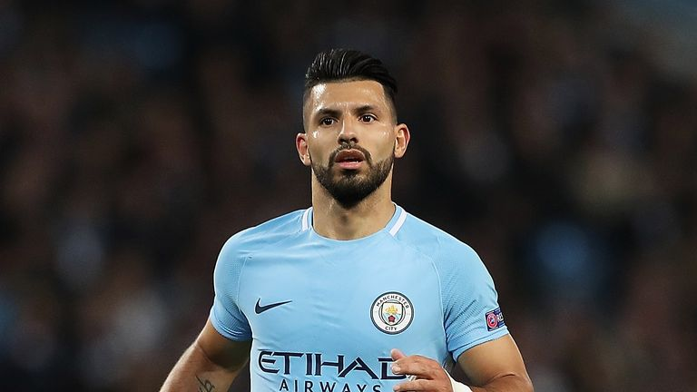 Sergio Aguero could return to the starting XI this weekend