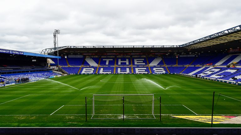 General of St Andrews before the Sky Bet Championship match between Birmingham City and Newcastle United on March 18, 2017