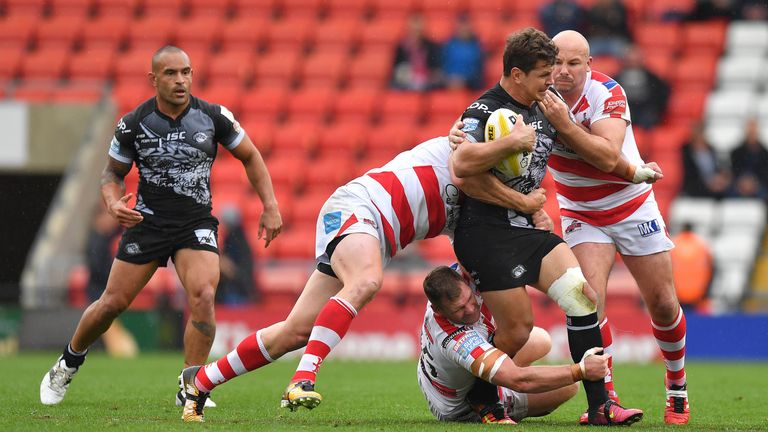 Catalans Dragons faced Leigh Centurions in the Million Pound Game last year