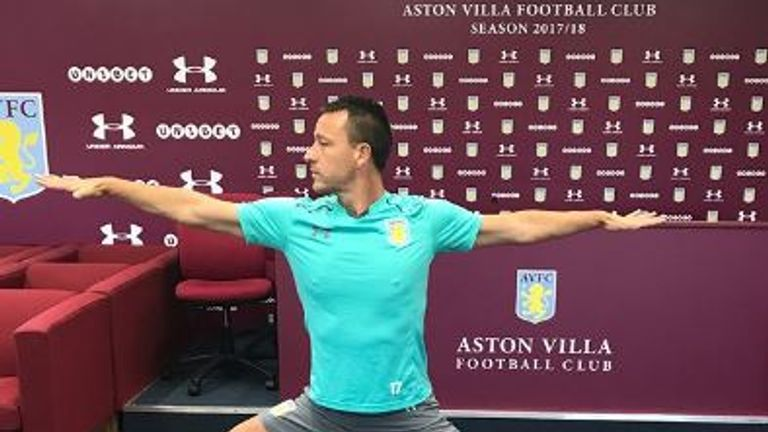 John Terry has been showing off some of his yoga skills (Credit: johnterry.26)