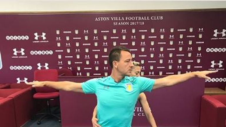 Terry is aiming to prolong his playing career (Credit: johnterry.26)