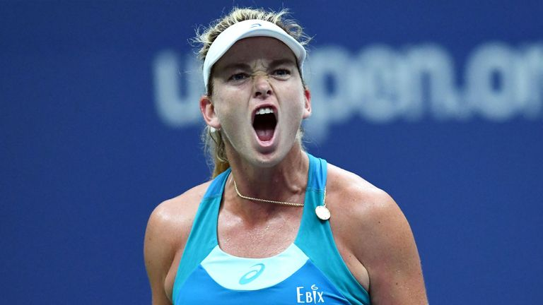 CoCo Vandeweghe reached her second Grand Slam semi-final of the year