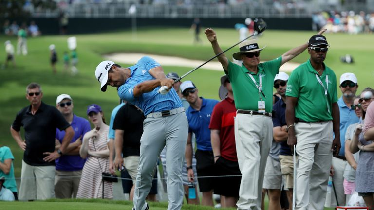Schauffele was playing his rookie season on the PGA Tour