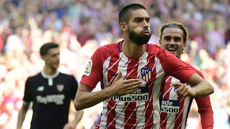252adc6a039 Yannick Carrasco has left Atletico Madrid to join newly promoted Chinese  Super League side Dalian Yifang