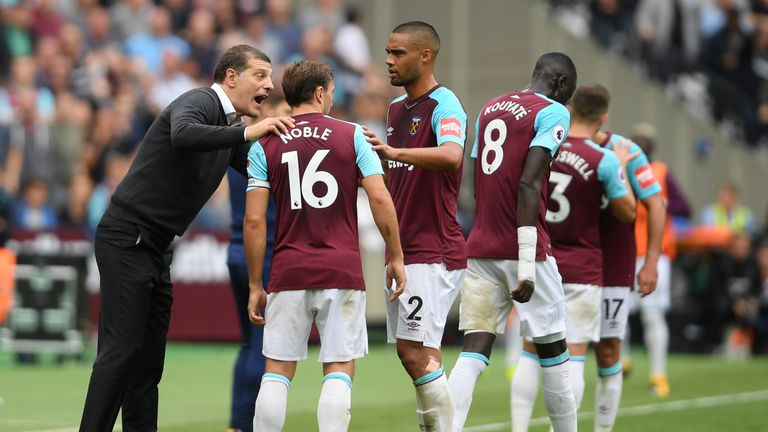 West Ham sit in 18th place in the Premier League after just two wins in their opening 11 games