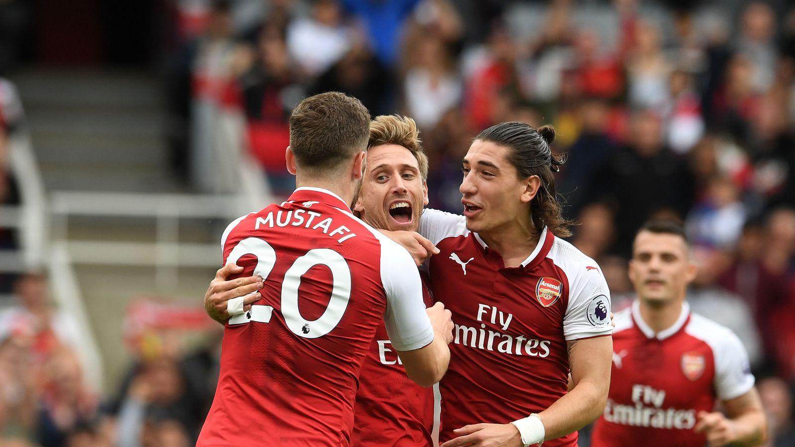 Arsenal 2-0 Brighton: Alex Iwobi on target as Gunners ease