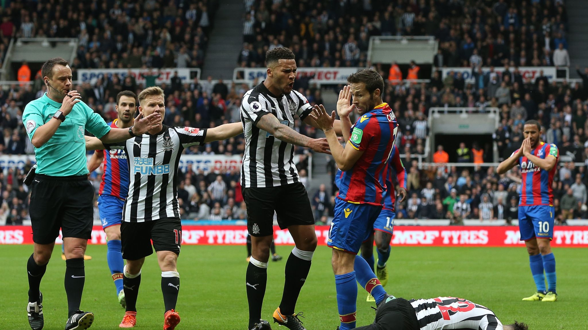 Live Commentary Newcastle Vs C Palace 21 10 2017