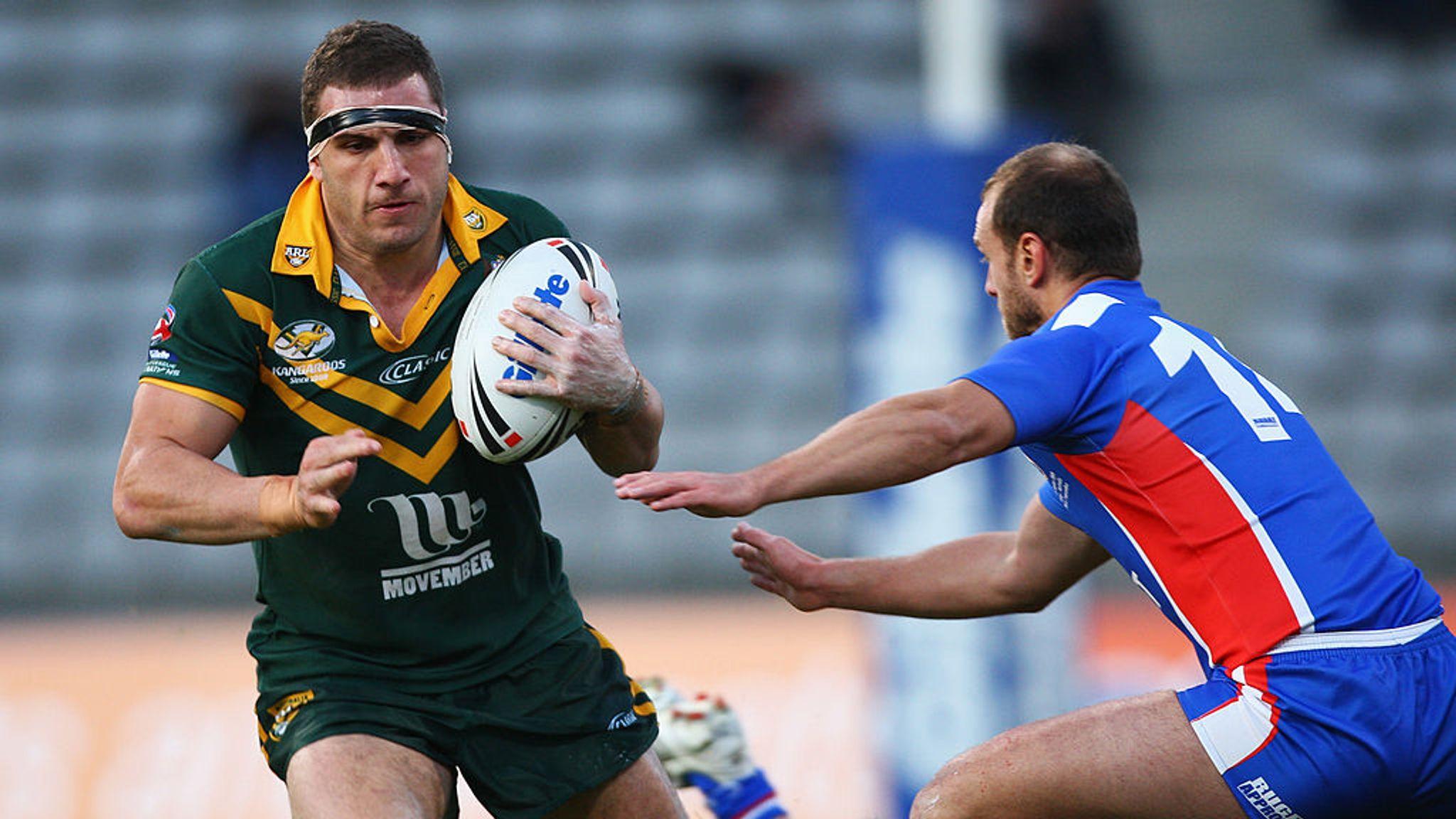 Andy Mannah lebanon to be ledformer australia hooker robbie farah at
