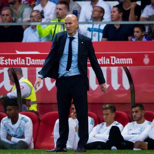 Zidane: I'm not worried