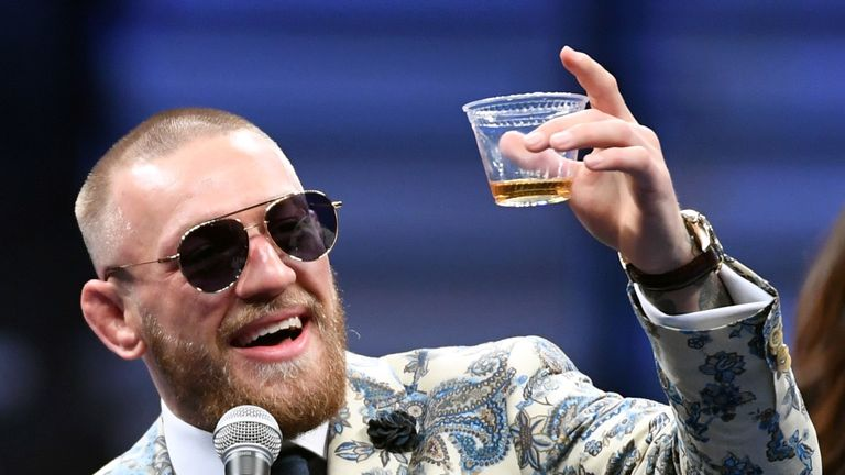 Conor McGregor has not fought in UFC since November 2016