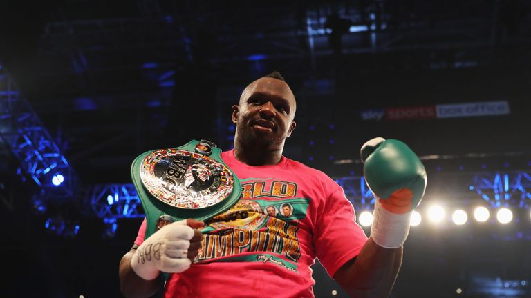 Whyte is ranked No 1 by the WBC