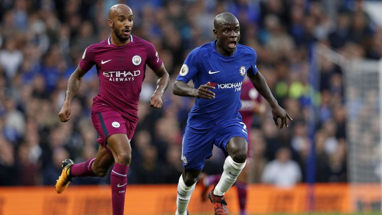 Fabian Delph was the surprise performer in Manchester City's win at Chelsea