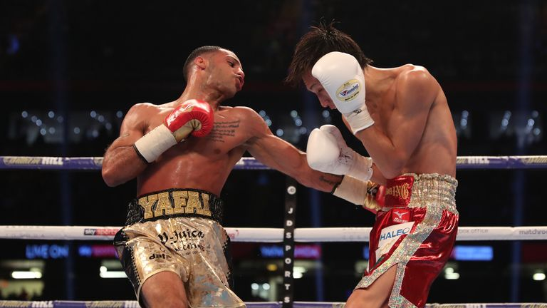 Kal Yafai successfully defended his world title