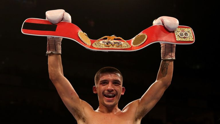 Selby is a former IBF champion