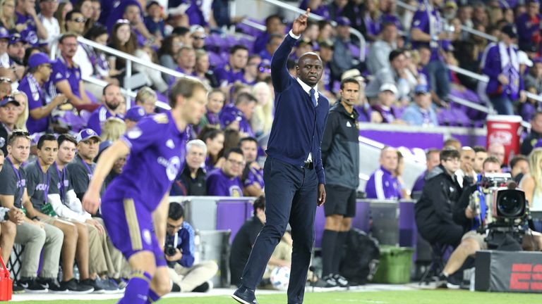 New York City boss Patrick Vieira will be hoping to secure a bye straight into the MLS Eastern Conference semi-finals