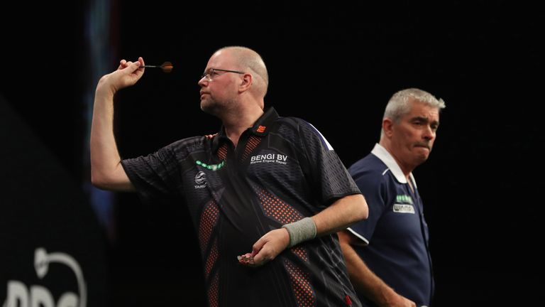 Barney made light work of Steve Beaton on Tuesday night, winning 3-0