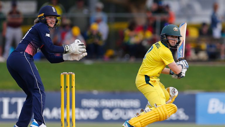 Blackwell's unbeaten 67 helped Australia to victory in the first ODI of the 2017 Women's Ashes