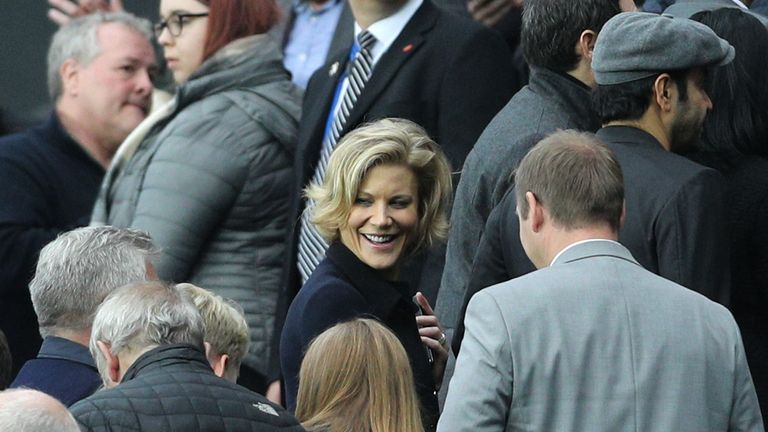 Staveley was a spectator at St James' Park for Newcastle's game against Liverpool in October